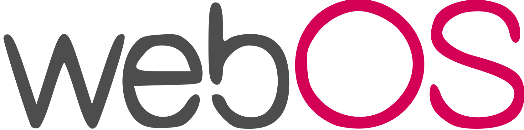 WebOS Mobile Operating System Logo